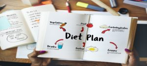 Enkel diet för viktminskning. Meny och proportioner för 1800 och 1400 kcal.