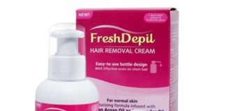 FreshDepil Instructions for use 2019, reviews, effect - forum, price, cream, side effects - where to buy? Taiwan - manufacturer