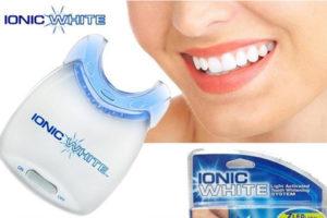 Ionic White prospect, teeth whitening kit - functioneaza?