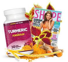 Turmeric Forskolin capsules, bivirkninger, ingredienSer - hvordan virker det?