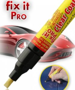 Fix it Pro scratch remover pen - how to use;