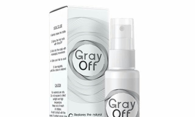 GrayOFF Instructions for use 2019, reviews, effect - forum, price, hair spray, ingredients - side effects? Taiwan - manufacturer