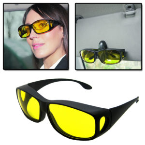 HD Glasses night vision - for day and night driving, does it work