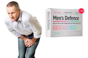 Men's Defence cápsulas, ingredientes, cómo tomarlo, como funciona, efectos secundarios