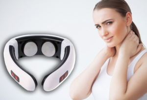 Neck Massager comasajeador de pulso eléctrico, cómo usarlo, como funciona, efectos secundarios