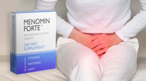 Menomin Forte cápsulas, ingredientes, cómo tomarlo, como funciona, efectos secundarios